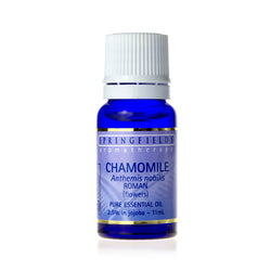 Springfields Chamomile Roman Pure Essential Oil 2.5% in Jojoba 11ml