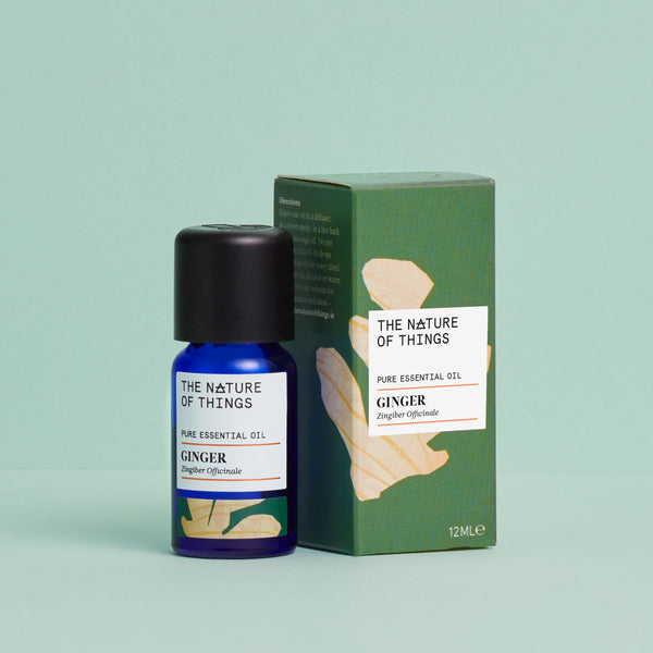 The Nature of Things Ginger Pure Essential Oil 12ml with Carton
