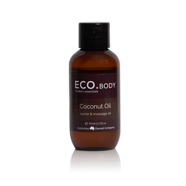 Eco Body Coconut Oil Carrier and Massage Oil 95ml