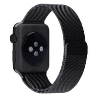 Apple Watch Band-Black Colour ; Stainless Steel Mesh/ Band; Magnetic Closure Clasp, Bracelet Strap for Apple iWatch Sport & Edition 38mm [FREE DELIVERY AUSTRALIA-WIDE; 7-11 DAYS]