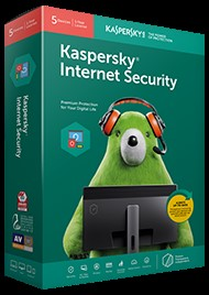 Kaspersky Internet Security Software (ESD version-Electronic Software Download).