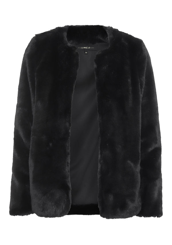 Royal Faux Fur Jakke