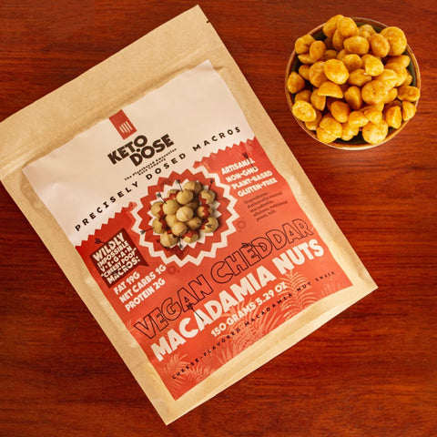 Vegan Cheddar Macadamia Nuts (NEW!)