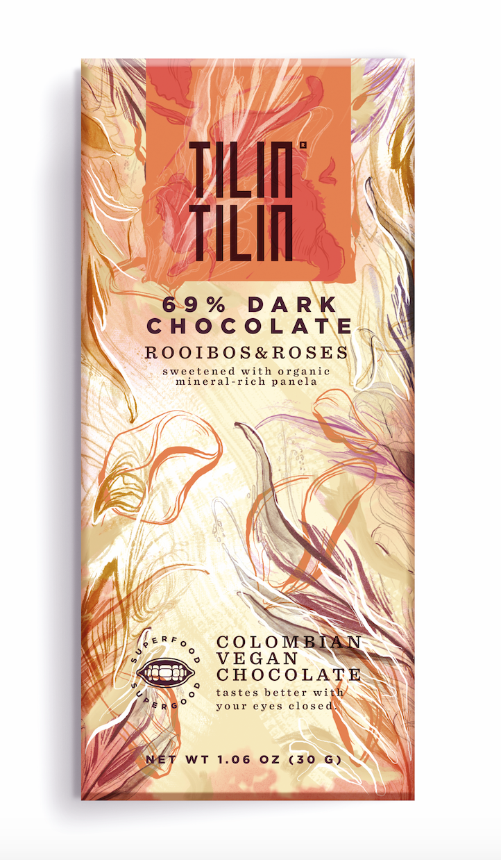 Organic Rooibos and Roses – Individual Bar