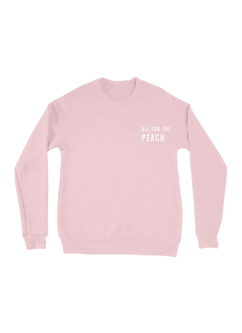 All For The Peach Full Length Sweater