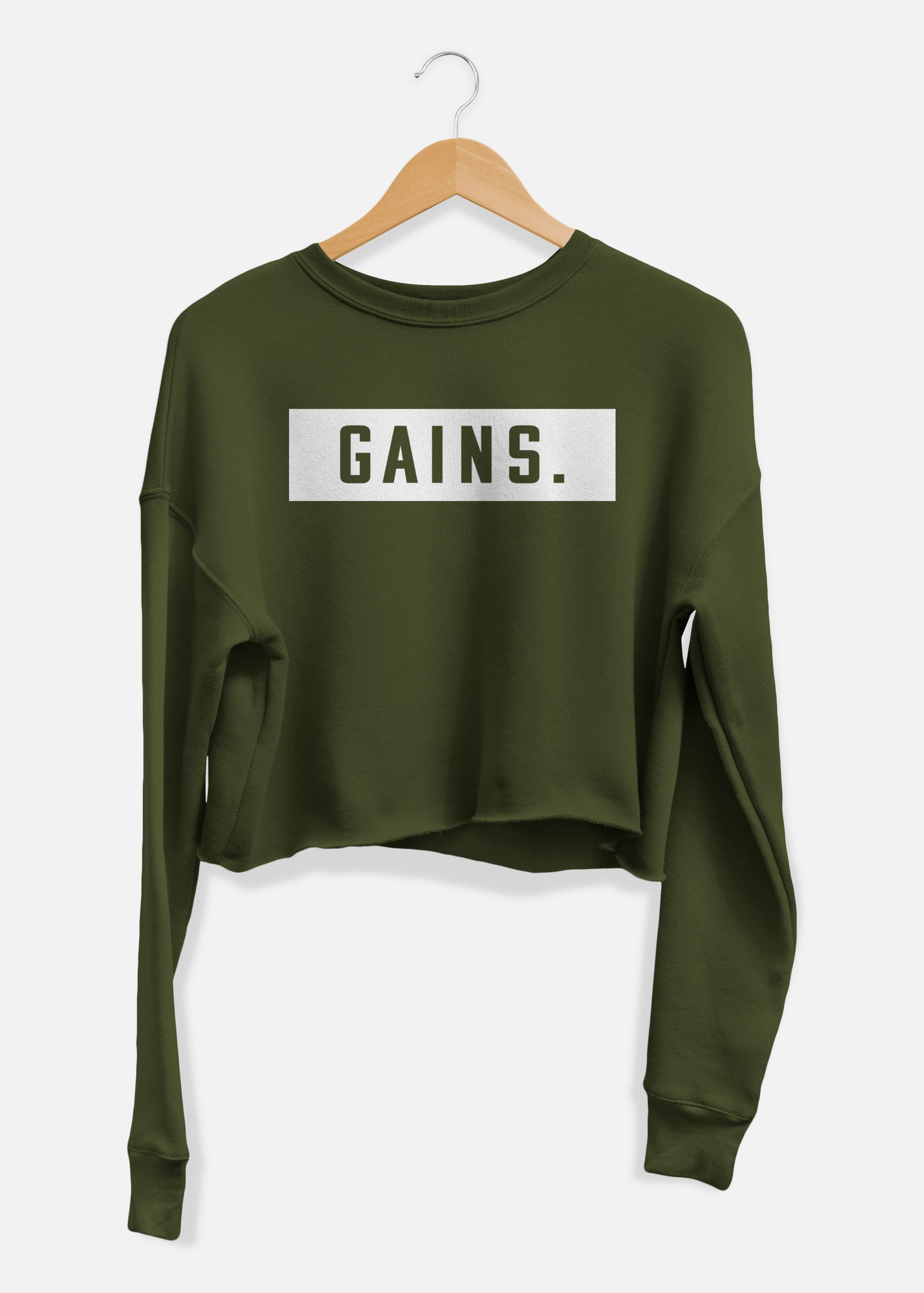 Gains Cropped Sweater