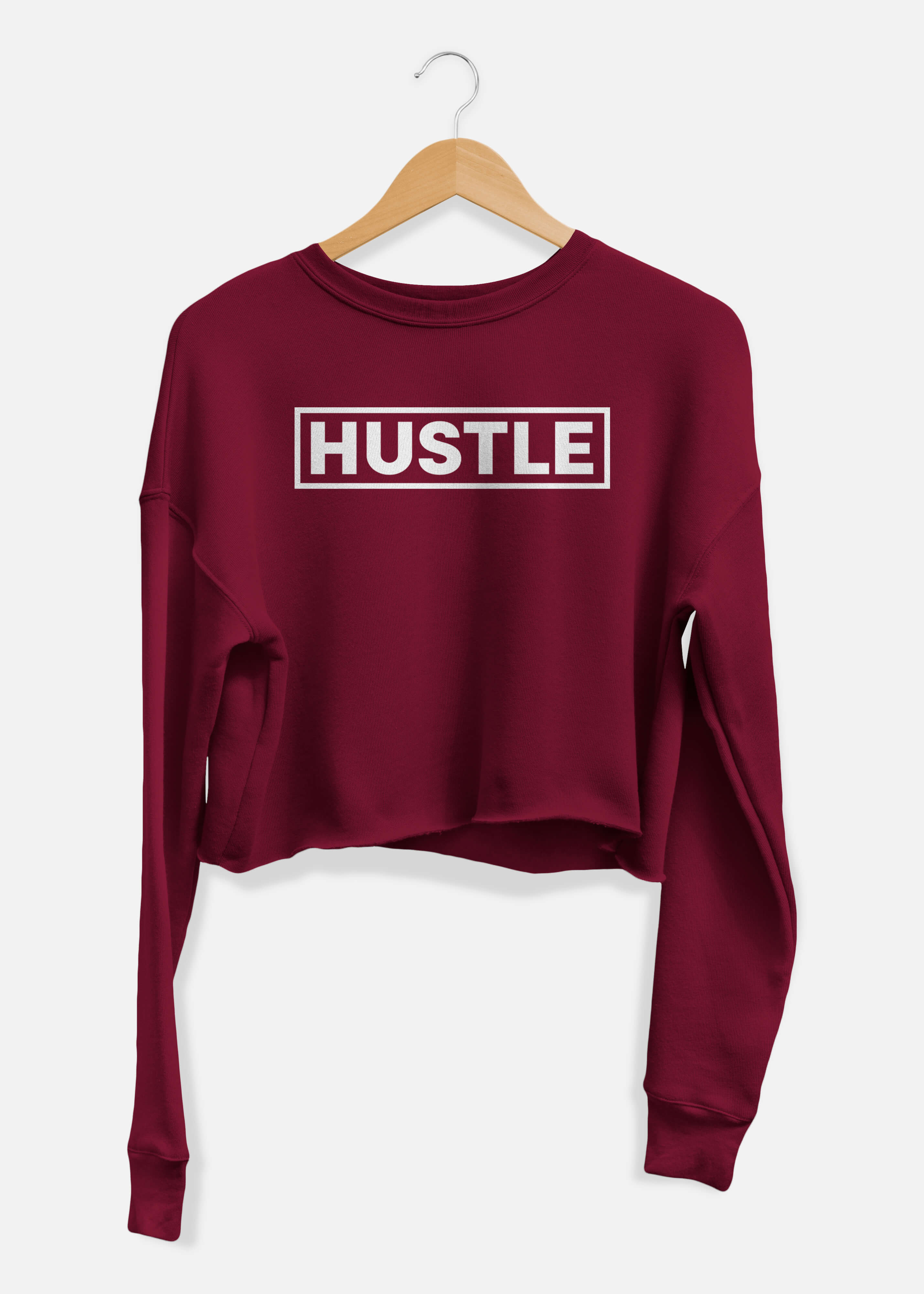 Hustle Cropped Sweater