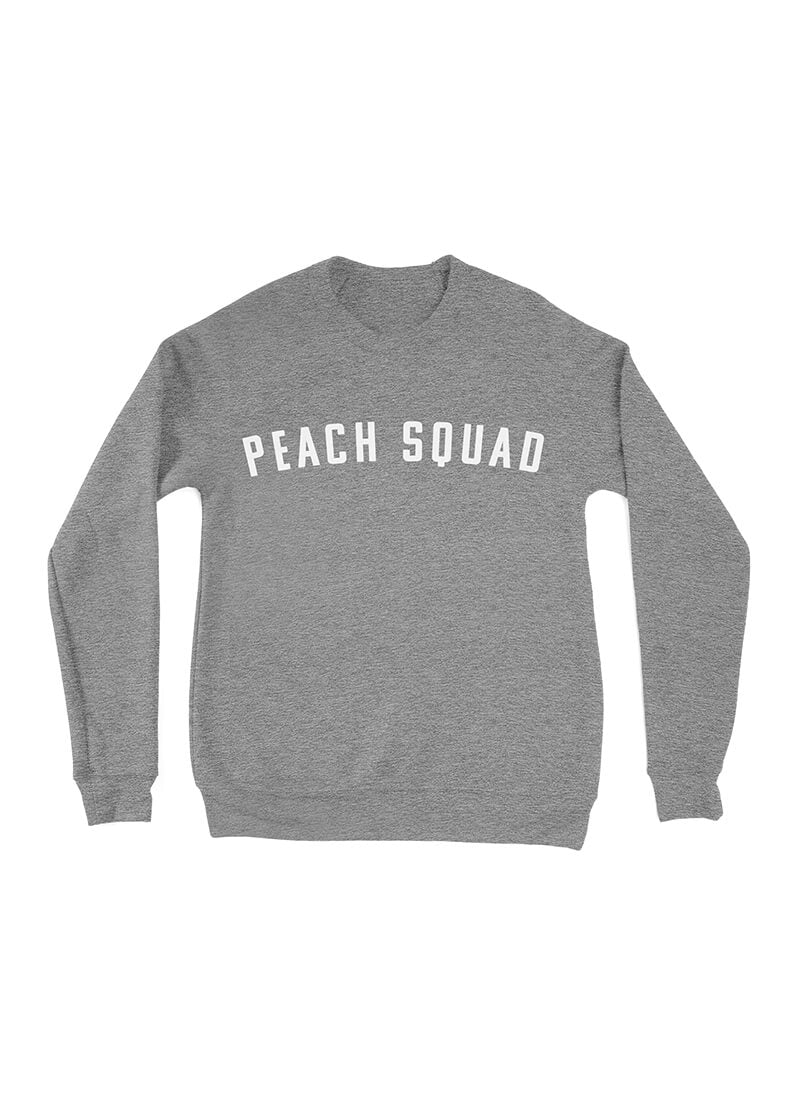 Peach Squad Full Length Sweater