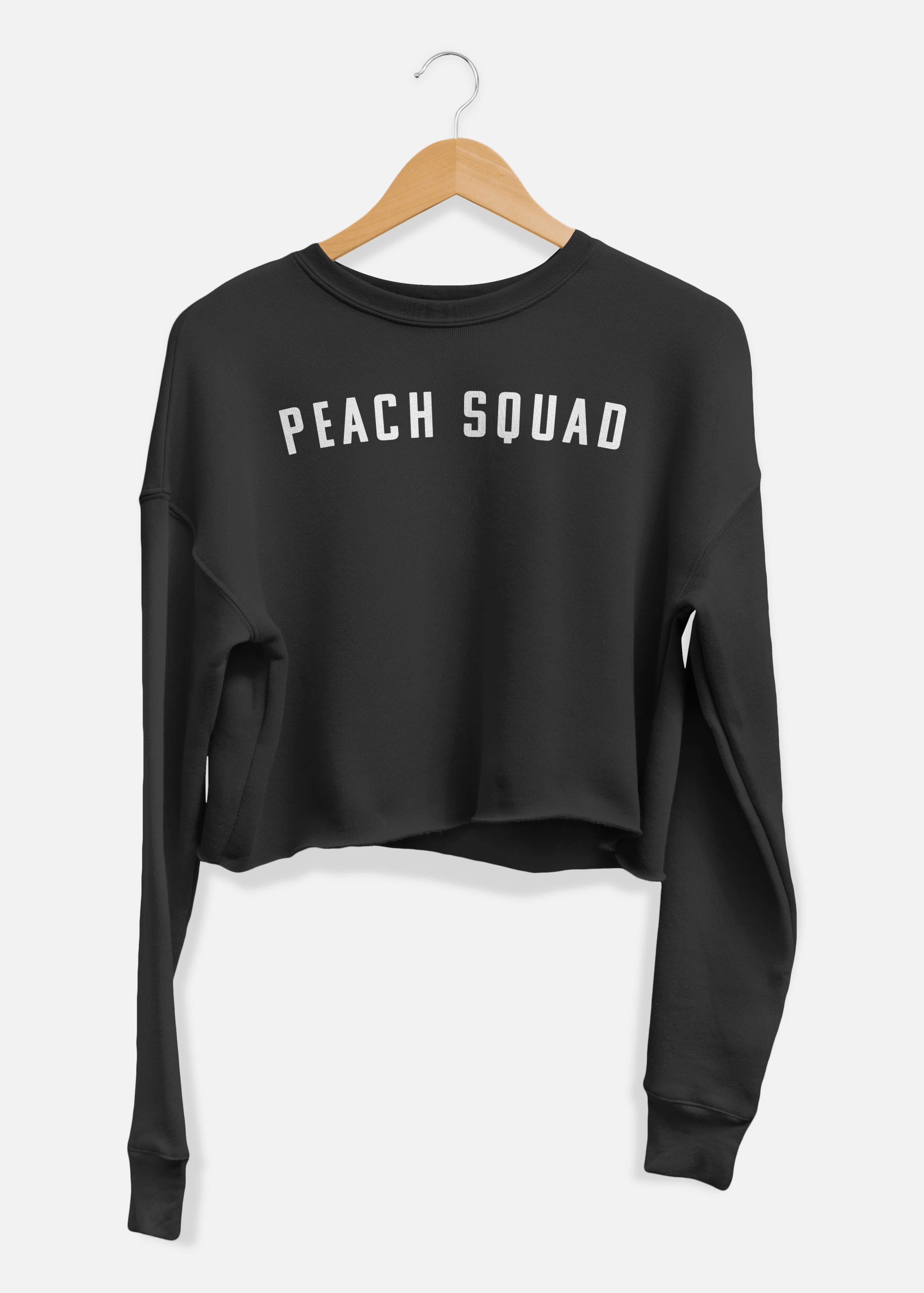 Peach Squad Cropped Sweater