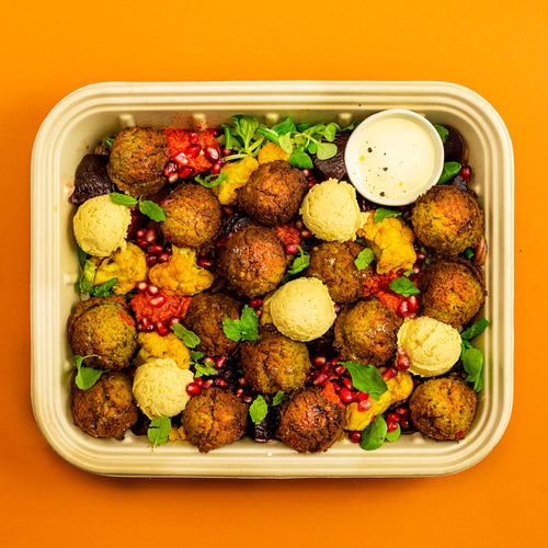 FALAFEL FEAST Tray - vegan