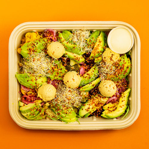 HUMMUS + AVOCADO Tray - vegan