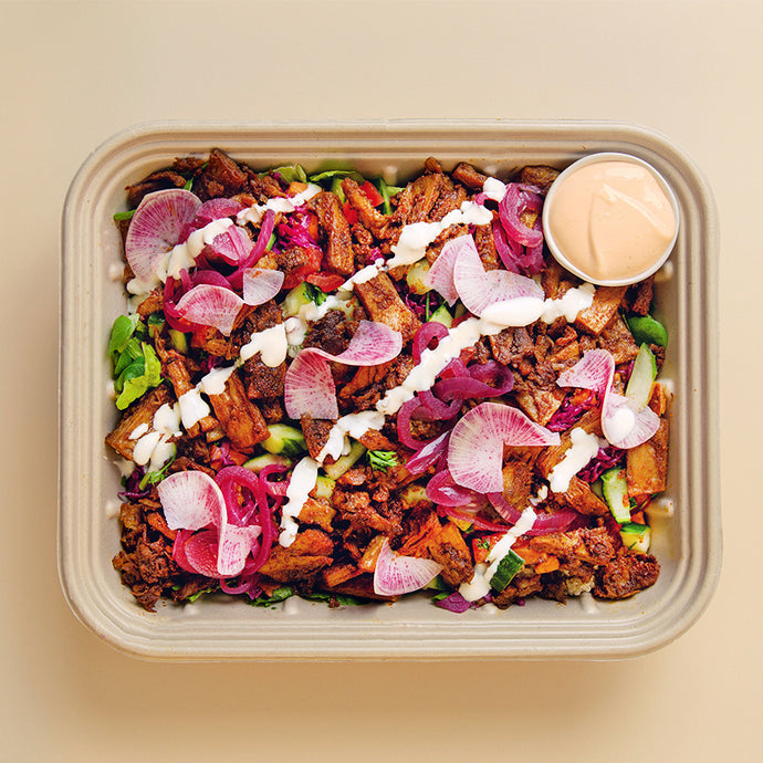 VEGAN KAPSALON Tray - vegan