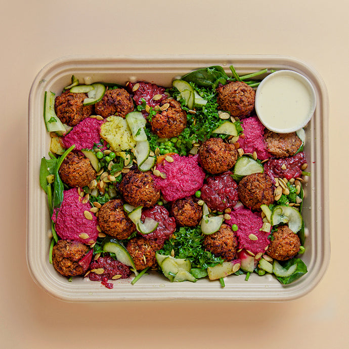 NORDIC VEGAN MEATBALLS Tray - vegan