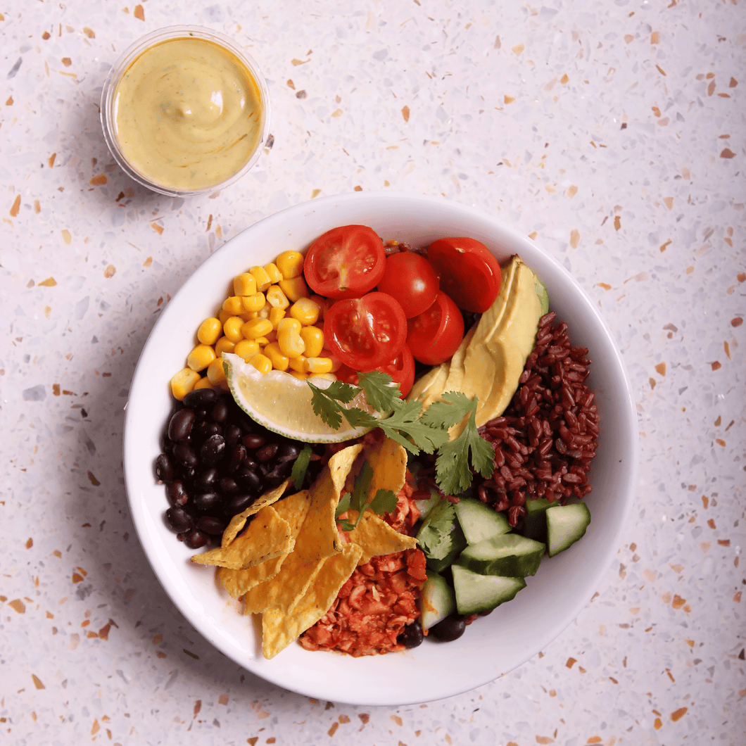 MEXICAN TACO BOWL - vegan