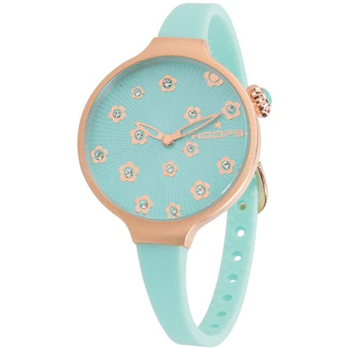Orologio Donna Hoops Icon Flowers Acquamarina 2562LF-04