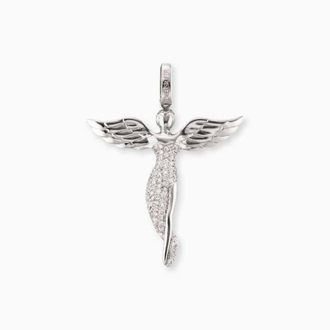 Engelsrufer Ciondolo Angelo Silver 26mm ERP-ANGEL-S