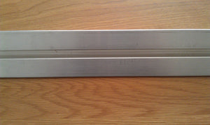 Aluminium Gate Track/Rail (20mm) 2 Meters
