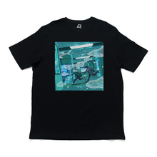 "Load image into Gallery viewer, ""A Magical Bond"" Cut and Sew Wide-body Tee Black"