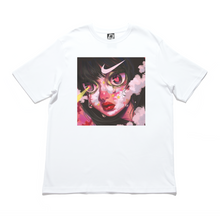 "Load image into Gallery viewer, ""Failed Projection"" Cut and Sew Wide-body Tee White"