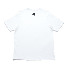 "Load image into Gallery viewer, ""Gaming Nights Alone"" Cut and Sew Wide-body Tee White"