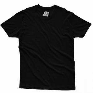 """B.B. G.T.G"" Basic Cotton T-Shirt Black"