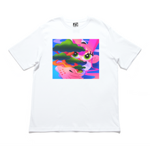 "Load image into Gallery viewer, ""Ordinary 凡"" - Cut and Sew Wide-body Tee White"