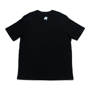 """TIGERA MUSCLE"" Cut and Sew Wide-body Tee Black"