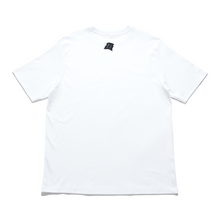 "Load image into Gallery viewer, ""Sunset"" - Cut and Sew Wide-body Tee White/Black"