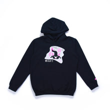 Load image into Gallery viewer, Axolotl Sweatshirt Hoodie Black