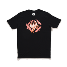 Load image into Gallery viewer, Tigera Basic Cotton Tee Black
