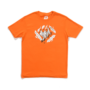 Tigera Basic Cotton Tee Orange