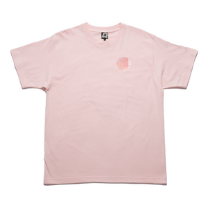 """Ad Astra"" Taper-Fit Heavy Cotton Tee Pink"