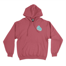 "Load image into Gallery viewer, ""Clown Milk"" Basic Hoodie White/Pink"