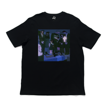 "Load image into Gallery viewer, ""I'm Thinking of Ending Things"" Cut and Sew Wide-body Tee White/Black"