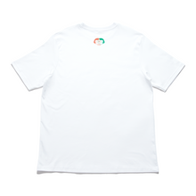 "Load image into Gallery viewer, ""Convergenza"" Cut and Sew Wide-body Tee White"