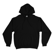 "Load image into Gallery viewer, ""Blue Viper"" Basic Hoodie Black/White"