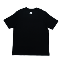 "Load image into Gallery viewer, ""Children of this Planet #8"" Cut and Sew Wide-body Tee White/Black"