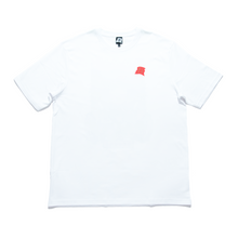 "Load image into Gallery viewer, ""Konbini Goddess"" Cut and Sew Wide-body Tee White"