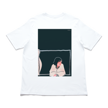 "Load image into Gallery viewer, ""Dream Fighter"" - Cut and Sew Wide-body Tee White"