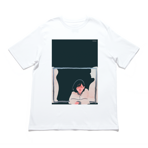 """Dream Fighter"" - Cut and Sew Wide-body Tee White"