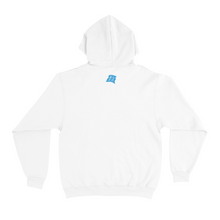 "Load image into Gallery viewer, ""Aka + Mask"" Basic Hoodie White"