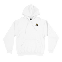 "Load image into Gallery viewer, ""Flowers"" Basic Hoodie White"