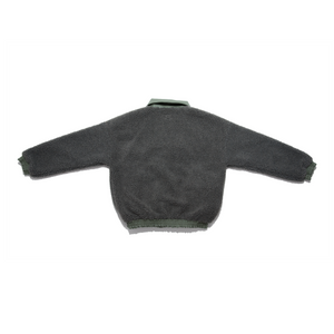 """Halo"" Fleece Jacket Grey/Olive"