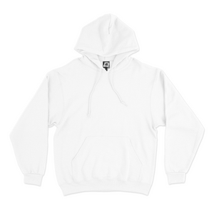 """Stay Safe"" Basic Hoodie White"
