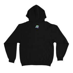 """Nova Made"" Basic Hoodie White/Black"