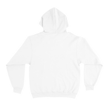 "Load image into Gallery viewer, ""Fish Girl"" Basic Hoodie White"