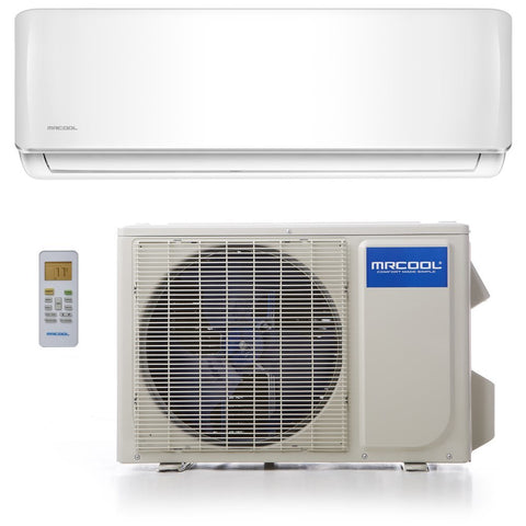 18k BTU 20 SEER MrCool Oasis Hyper Heat Ductless Heat Pump Split System - Wall Mounted - TinyHouseSupplyShop.com