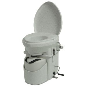 Nature's Head Dry Composting Toilet with Standard Crank Handle - TinyHouseSupplyShop.com