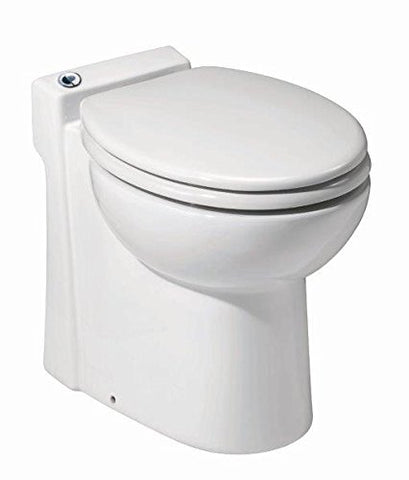 Image of Saniflo 023 Sanicompact Self-Contained Toilet, White - TinyHouseSupplyShop.com