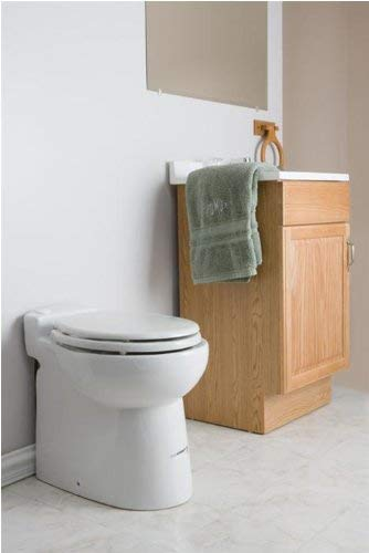 Saniflo 023 Sanicompact Self-Contained Toilet, White - TinyHouseSupplyShop.com